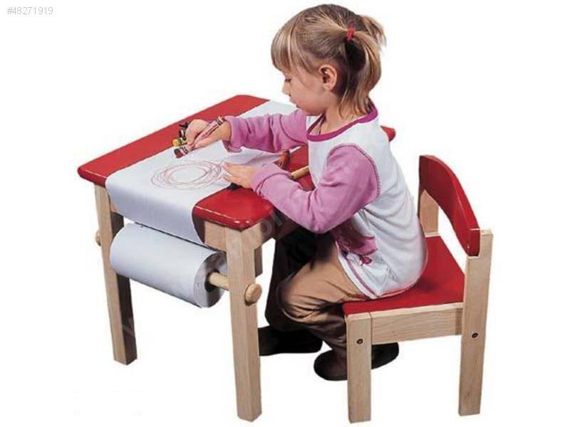 Çocuklar için en moda ders çalışma masaları