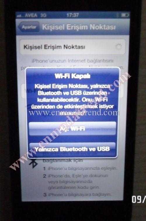 iphone 5 modem olarak kullanma (4)
