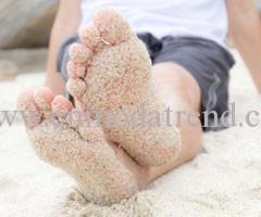 erkek ayak bakımı