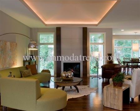 alçak tavan nasıl yüksek gösterilir dekorasyon modası