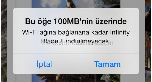 App store 100 mb limit