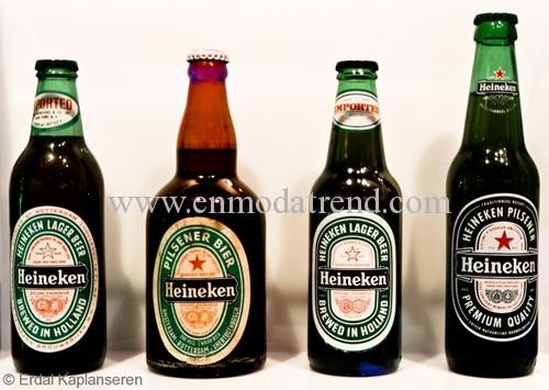 heineken bira şişesi