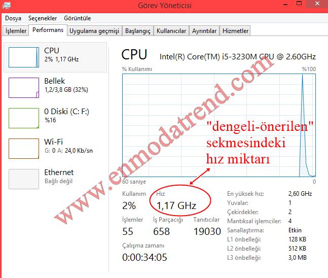 laptop cpu hızlandırma