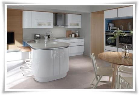 Mutfaklarda yeni dönem: Oval mutfaklar