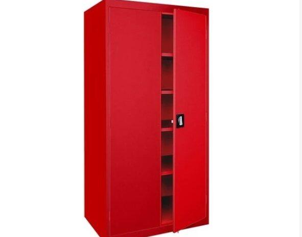 kırmızı metal dosya dolabı ofis için ev için