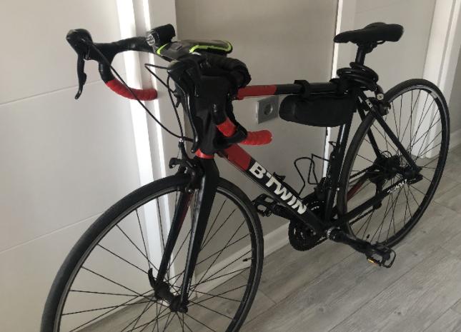 Btwin Triban 520 yarış bisikleti