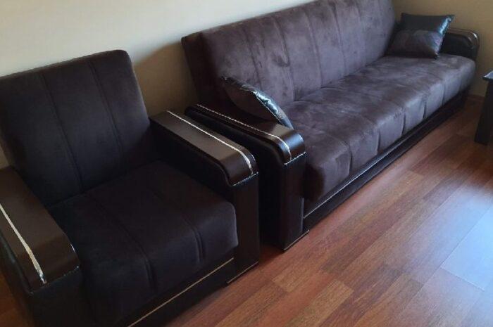 Uzatmalı çekyat yatmalı ikinci el kanepe